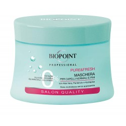 BIOPOINT MASCHERA PURE & REFRESH VASO 250ML