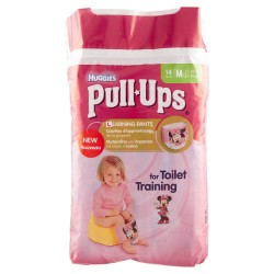 HUGGIES PULL UPS GIRL MISURA MEDIUM 12PZ