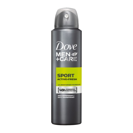 DOVE DEO SPRAY MEN SPORT ACTIVE 150ML