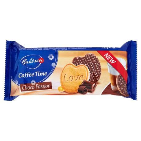 BAHLSEN COFFEE TIME CHOCO PASSION 143GR