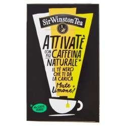 SIR WINSTON ATTIVATE' NERO MATE + LIMONE 18X2GR