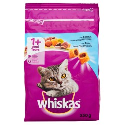 WHISKAS 1+ CAT CROCCH TONNO 350GR