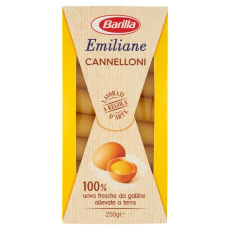 BARILLA EMILIANE 188 CANNELLONI ALL'UOVO 250GR