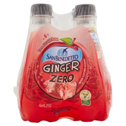 SAN BENEDETTO ZERO GINGER PET 4X250ML