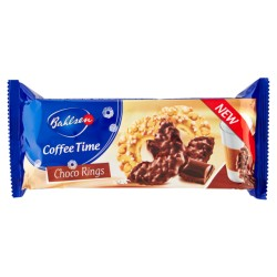 BAHLSEN COFFEE TIME CHOCO RINGS 155GR