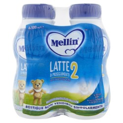 MELLIN 2 LATTE LIQUIDO NEW 4X500ML