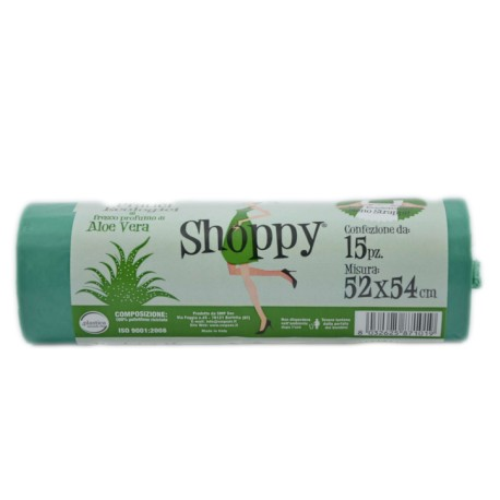 SHOPPY BUSTE NETTEZZA ALOE 52X54CM 15PZ