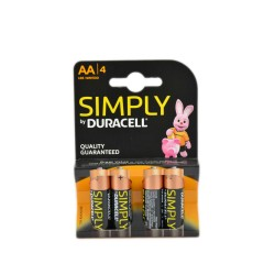 DURACELL SIMPLY STILO AA 4PZ