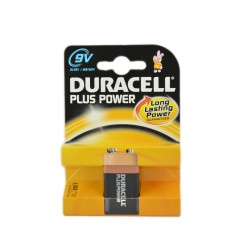 DURACELL PLUS POWER QUADRATA 9V 2PZ