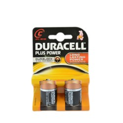 DURACELL PLUS POWER MEZZA TORCIA C 2PZ