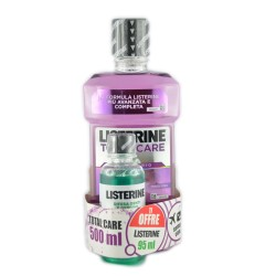 LISTERINE COLLUTORIO TOTAL CARE - MENTA PURA 500+95ML