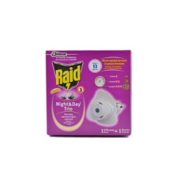 RAID EMANATORE NIGHT & DAY TRIO CON RICARICA 1PZ