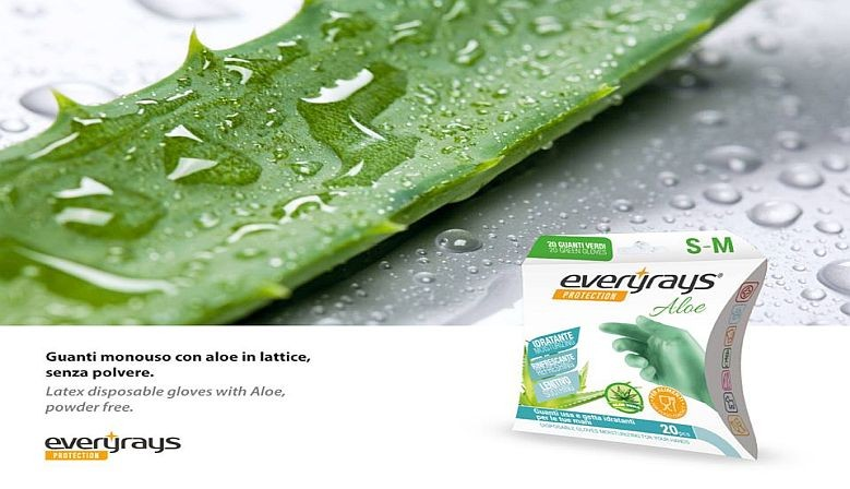 EVERYRAYS GUANTI LATTICE ALOE