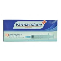 FARMACOTONE SIRINGHE 5ML 10PZ