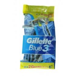 GILLETTE BLUE3 USA&GETTA 4+2PZ