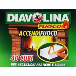 DIAVOLINA ACCENDIFUOCO 40PZ