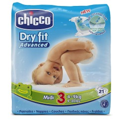 CHICCO PANNOLINI DRY FIT...