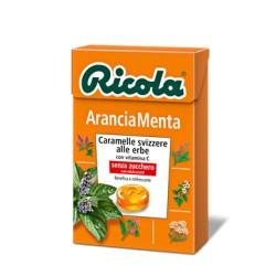 RICOLA CARAMELLE ARANCIA E...