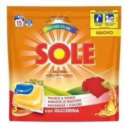 SOLE GELCAPS COLOR 15PZ
