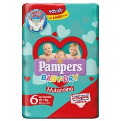 PAMPERS BABY DRY MUTANDINO...