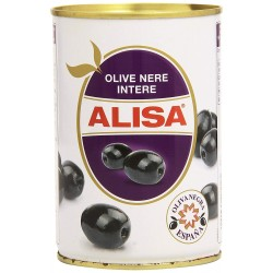 ALISA OLIVE NERE INTERE 425GR