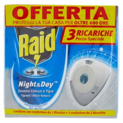 RAID NIGHT & DAY RICARICA...