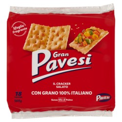 GRAN PAVESI CRACKERS SALATI...