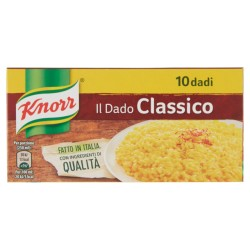 KNORR DADO CLASSICO 10PZ 100GR